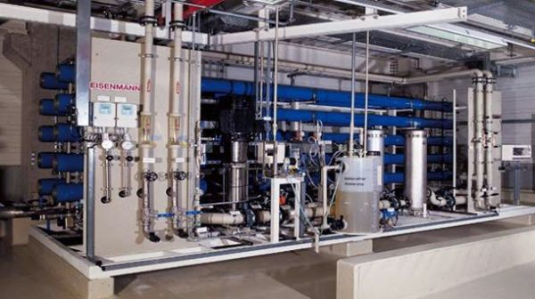 Treatment of brackish water via reverse osmosis